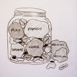 """Rocks in a Jar"". Illustration from http://blog.thedolectures.co.uk/"